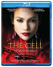 THE CELL (Jennifer Lopez)  -  Blu Ray - Sealed Region free for UK