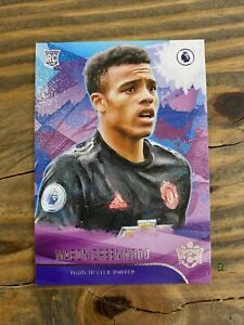 2019-20-Panini-Chronicles-Soccer-MASON-GREENWOOD-Pitch-Kings-Rookie-Level-I-RC