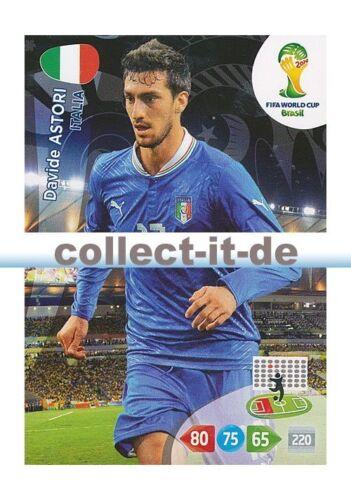 Panini Adrenalyn XL World Cup 2014-212 Davide Astori Base Card