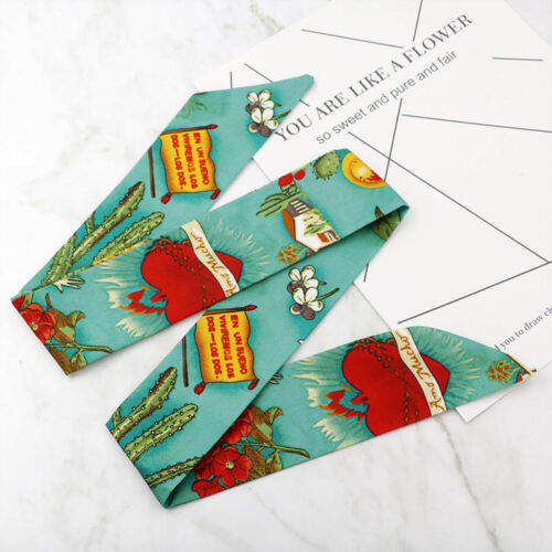 03 Rockabilly ladies wire knot pattern headband head wrap scarf hair band  50/'s