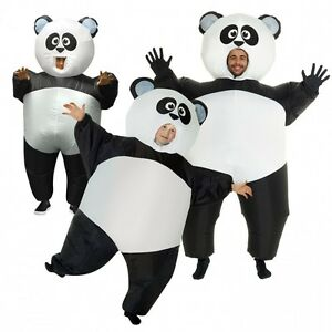 Image is loading Inflatable-Panda-Costume-Adult-or-Kids-Great-Family-  sc 1 st  eBay & Inflatable Panda Costume Adult or Kids Great Family Blow Up Animal ...