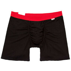MyPakage PKG Weekday – Black/Red Breif Modal/Spandex Boxers NEW!