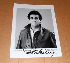 Placido Domingo *Opera Spain Tenor*, original signed Photo in 20x25 cm (8x10)