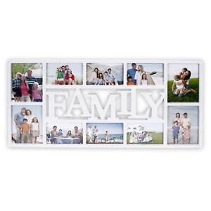 Sehr-dekorativer-Bilderrahmen-aus-Kunststoff-35-5-x-72-cm-034-FAMILY-034-in-weiss