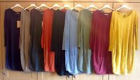 Italian layering lagenlook Cocoon dress parachute dress Cotton tunic 10-16