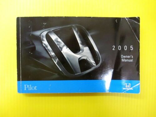 Pilot SUV S U V 05 2005 Honda Owners Owner/'s Manual OEM