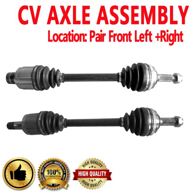 Pair Front CV Axle Shaft For ACURA VIGOR 92-94