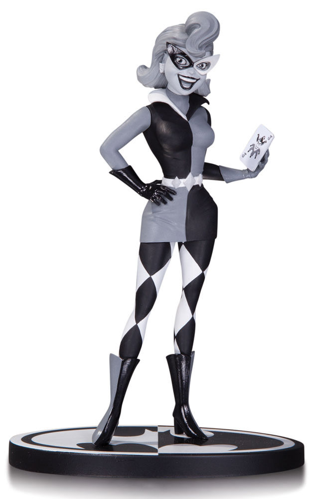 Statuette Harley Quinn by Paul Dini - Batman schwarz & Weiß - DC Collectibles