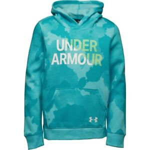 Under Armour Girls Armour Fleece Wordmark Hoodie
