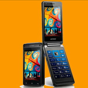 GiONEE-W808-8MP-3-7-034-Sapphire-Screen-Dual-SIM-Standby-3G-Flip-Android-Smartphone