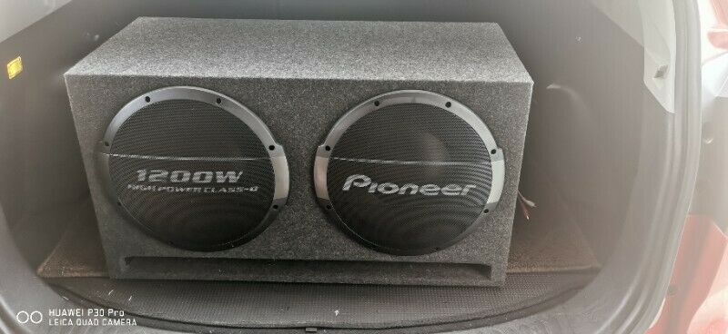 Pioneer TS-WX1220AHDual Ported Enclosure Active Subwoofer with Built-in Amplifier