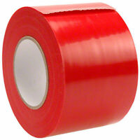 4x180' Husky Yellow Guard Vapor Barrier Sealing Tape For Plastic Sheeting Red