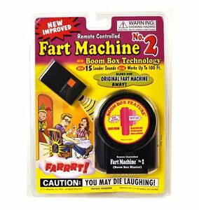 NEW-Remote-Control-Fart-Machine-2-by-T-J-Wiseman-FREE-SHIPPING