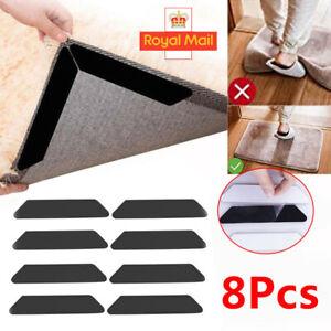 8 pcs 1 pack x CARPET RUG NON SLIP ANTI SLIP RUGGIES anti slip stcky pads