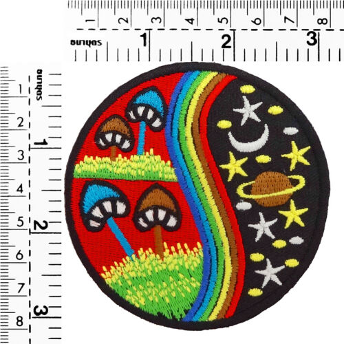 #1940IR Eco Planet Tree Environment Craft Embroidered Sew Iron On Patch Badge