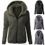 Women-039-s-Warm-Winter-Zip-Up-Fleece-Fur-Coat-Hooded-Parka-Overcoat-Jacket-Outwear thumbnail 6
