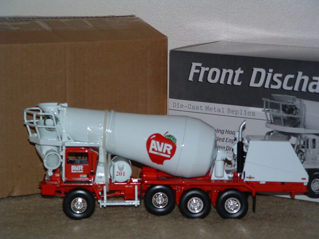 APPLE VALLEY FRONT DISCHARGE MIXER FIRST GEAR 1st  19-2895 SUPER RARE 1 34 scale