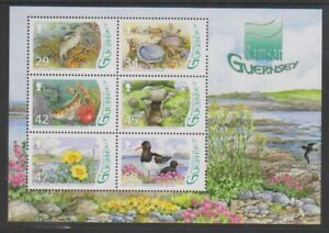 Guernesey-2006-L-039-Eree-Marecages-Ramsar-Site-Feuille-MNH-Sg-MS1129