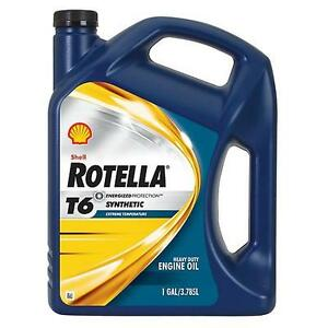 Shell-Rotella-T6-5W-40-Gallon-3-785-Litre-Brisbane-Address-ONLY
