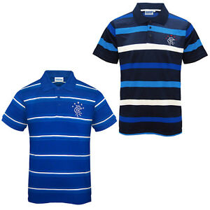 Image is loading Rangers-FC-Official-Football-Gift-Mens-Striped-Polo- 45ac746b5