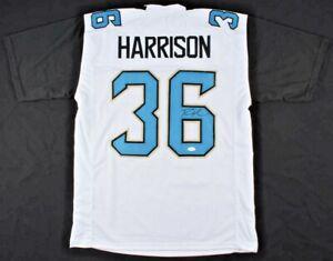 cozy fresh ef889 54552 Ronnie Harrison Signed White Jacksonville Jaguars Football ...