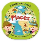 Around the World Places: Fun, Rounded Board Book by Moira Butterfield (Hardback, 2015)