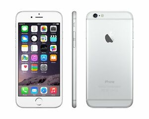 APPLE-IPHONE-6-16GB-SILVER-RECONDITIONNE-A-NEUF-GRADE-A-COMME-NEUF-GARANTIE-1AN