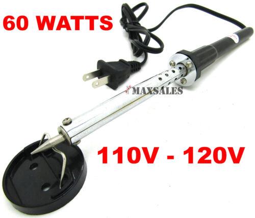 60W IRON SOLDERING GUN Electric Welding Solder 110V-120V 1pc 20G Wire Tube