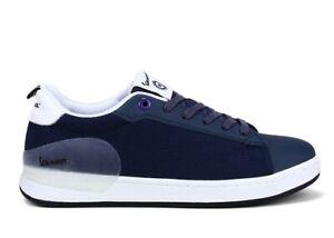 Scarpe-da-uomo-Vespa-V00005-casual-estive-sportive-basse-sneaker-in-pelle-blu