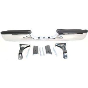 new rear step bumper chrome for dodge ram truck 2500 1500. Black Bedroom Furniture Sets. Home Design Ideas