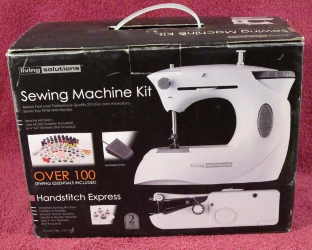 Cordless Handstitch Express Portable Sewing Machine Kit By Living Classy Sewing Kit For Sewing Machine