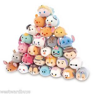 Disney Tsum Tsum Squishies Series 2 Fuzzy Feel Figures