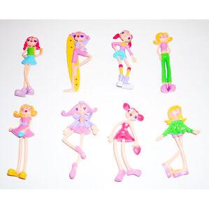 Toysmith Set of Colorful Bendi Dolls - 8!