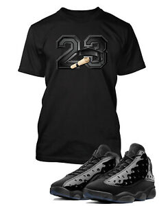 T-Shirt-to-Match-Air-Jordan-13-Cap-and-Gown-Shoe-Tee-Pro-Club-Big-and-Tall-Small