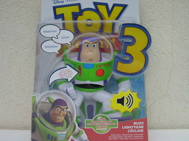 Buzz lightyear toy story 3 articolato elettronico electronic posable ok R8327