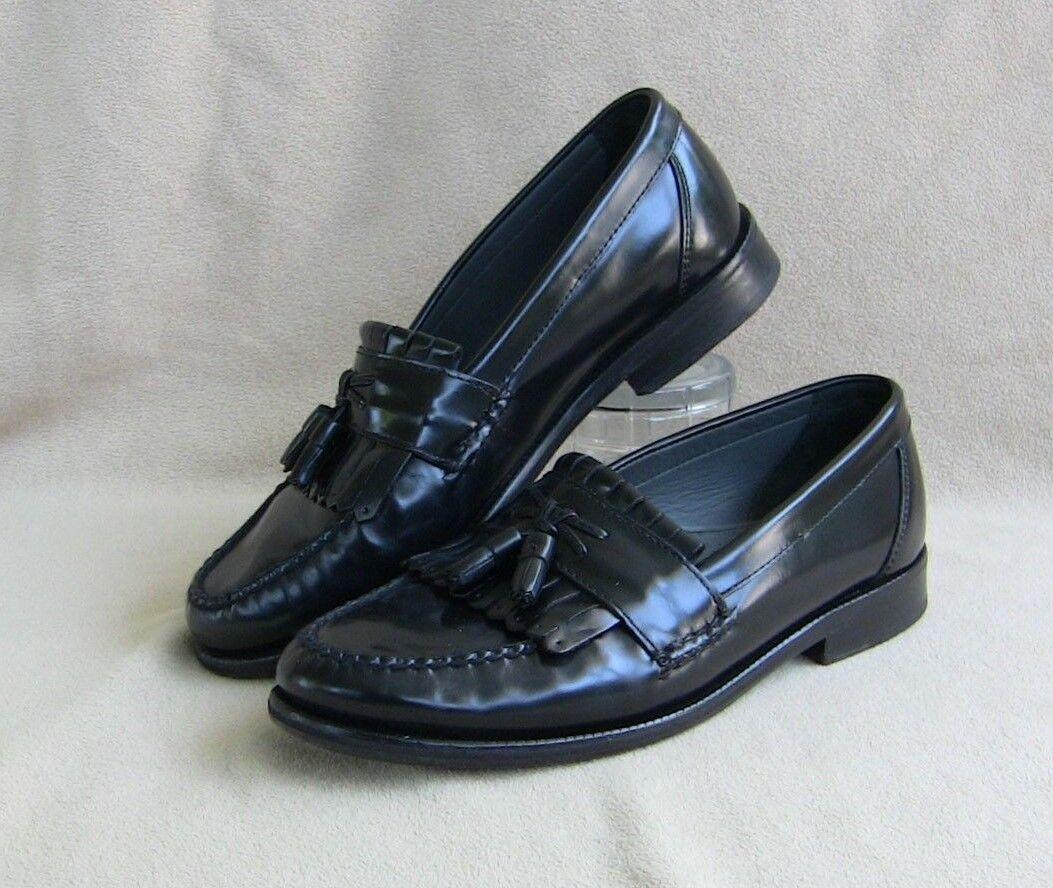 Florsheim 18075 Kiltie Tassel Dress Formal Slip On Moc Loafers Mens US 9EEE