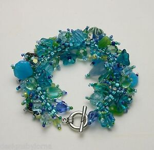 Image Is Loading Bracelet Bead Kit 034 Summer Breeze Aqua