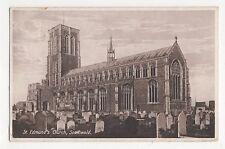 Suffolk, St. Edmunds Church, Southwold Postcard, A845