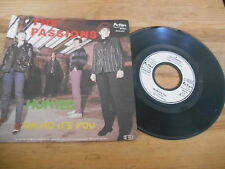 "7"" Pop The Passions - Hunted / Oh No It's You (2 Song) FICTION / GERMANY"