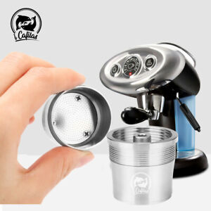 Stainlee Steel Coffee Capsule Pod For Illy iperEspresso X7.1 X8 Y3 Y5 Y1.1 Y5 UK