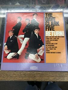 The-Dave-Clark-Five-Return-Original-Vinyl-Record-LP-P-677