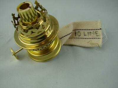 """1/"""" Flat Oil Lamp Wick 25mm 10 metre roll English Made 1000cm approx 32/'"""