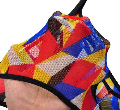 Men/'s Sheer Bikini String Slips Sous-vêtements élastique Doux String Bref petit pantalon