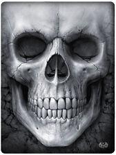 SOLEMN SKULL Fleece Blanket |Bedding |Fashion |Skulls |GothSkull