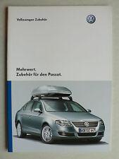 Prospekt Volkswagen VW Passat Zubehör, 2.2007, 32 Seiten