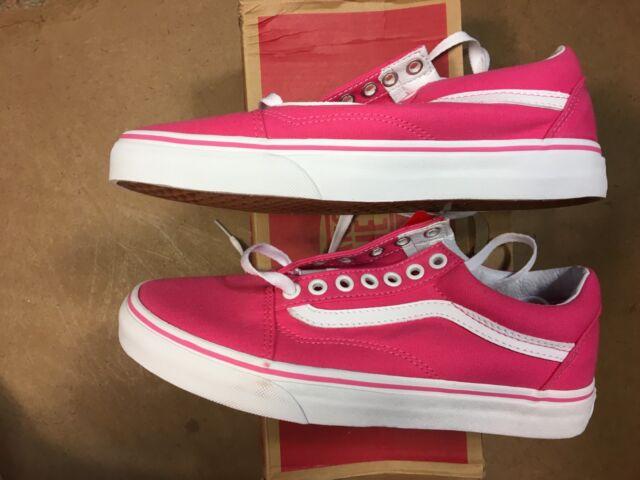 VANS Old Skool Canvas Fandango Pink Women 8 for sale online  abecf32ca
