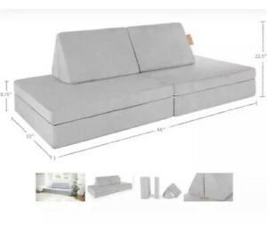 The Nugget Comfort Couch Kids- Koala Gray- IN Hand ships ...