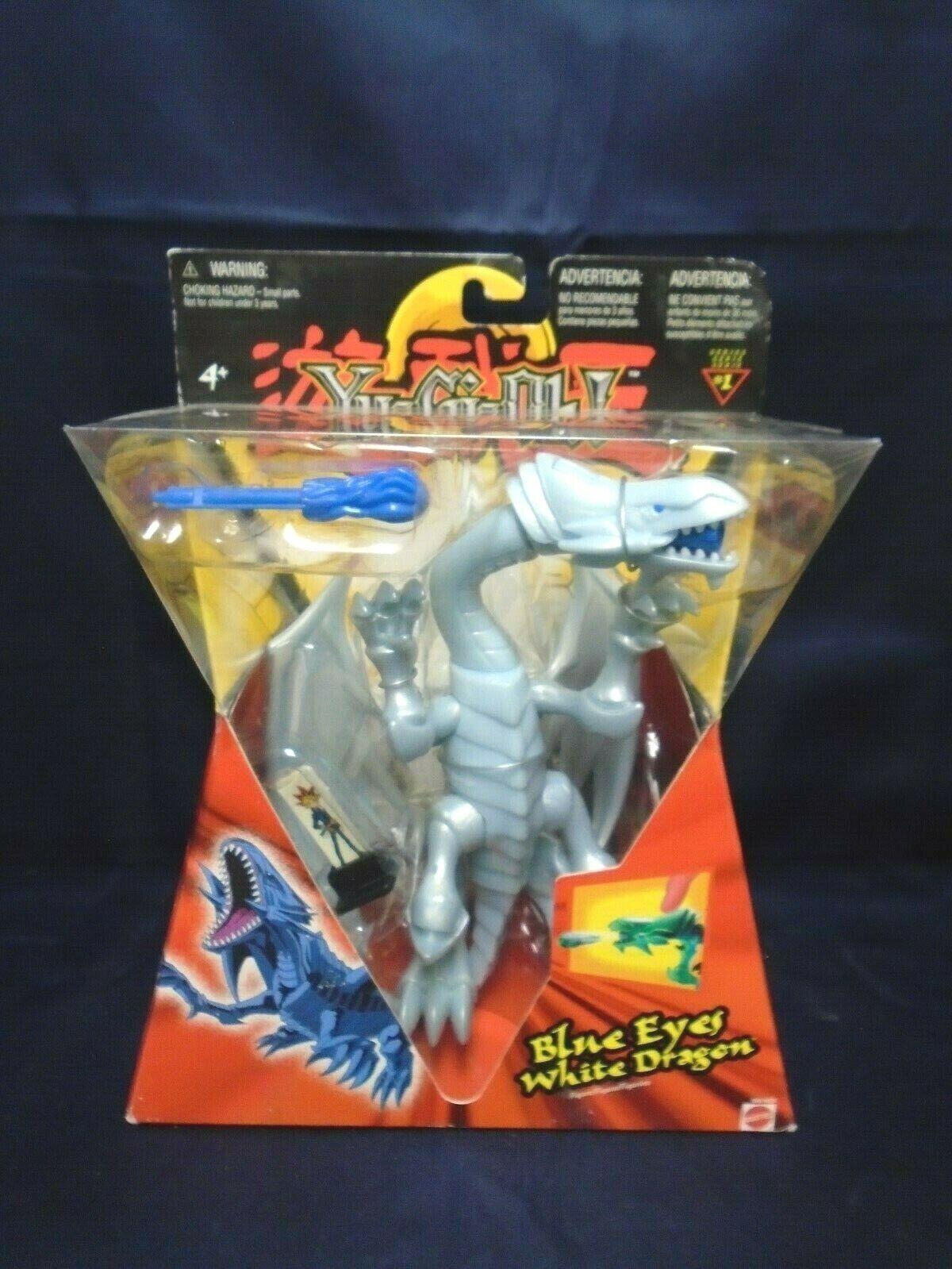 YuGiOh  blu Eyes bianca Dragon cifra Mattel 2002