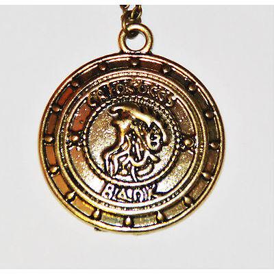 Galleone Gringotts Harry Potter Kette Schmuck Anhänger Halskette Münze Geld NEU