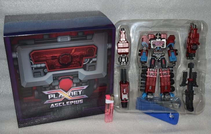 Nuevos Transformers Planeta X PX-08 Asclepio foc perceptor Acción Figura En Stock